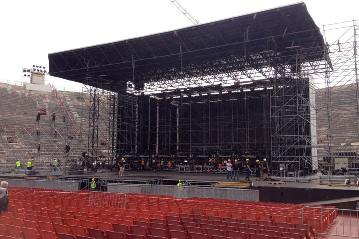 Arena stage building