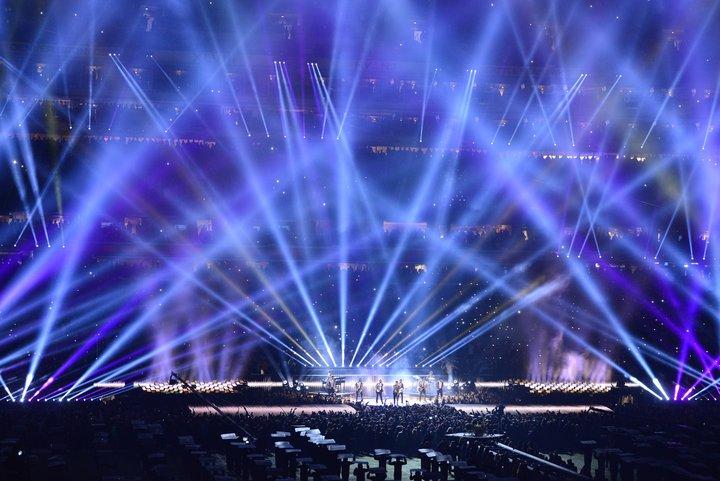 Bruno Mars Super Bowl XLVIII Halftime Show