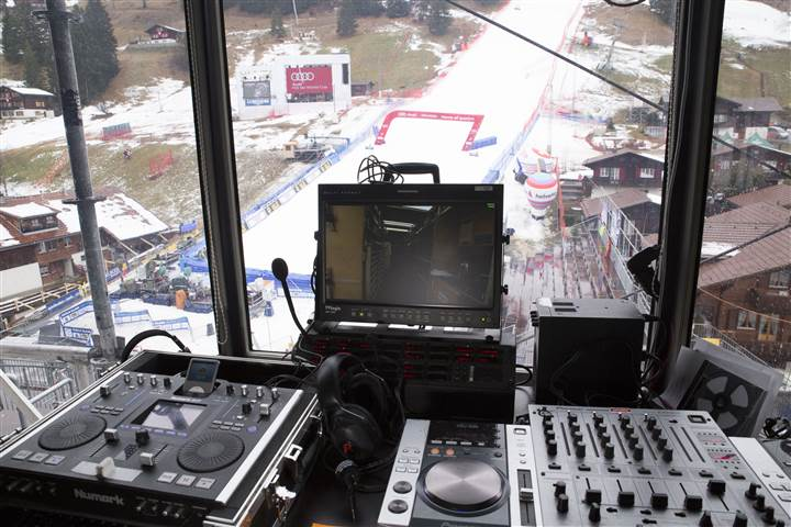 Riedel Communications provides communication network for Audi FIS Ski World Cup Final