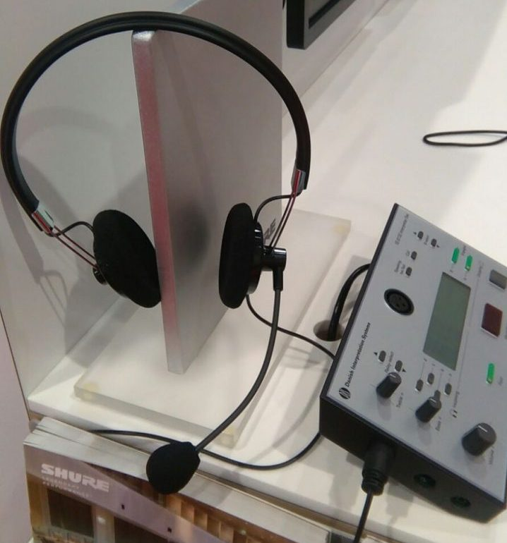 Nuovo headset per la traduzione simultanea shure ih6500 - Cuffie traduzione ...