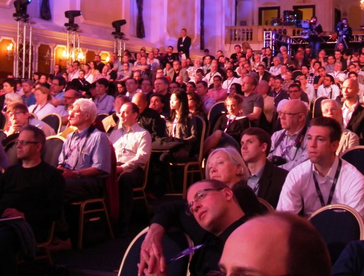 Audience for papers delivered at Showlight 2013