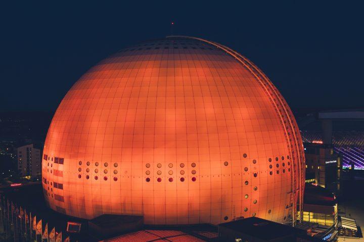 Osram_ESC_Globe Arena Stockholm_orange