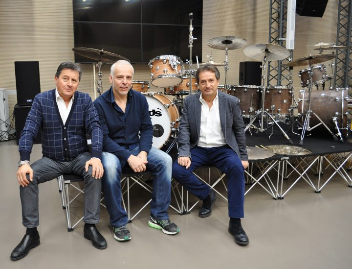 Da sinistra Mauro Tanoni Luca Deorsola e Bruno Tanoni.