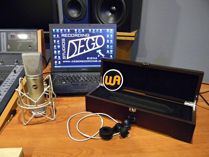 Recensione microfono Warm Audio WA87