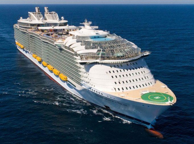 I sistemi led elation scelti per la nave da crociera royal caribbean