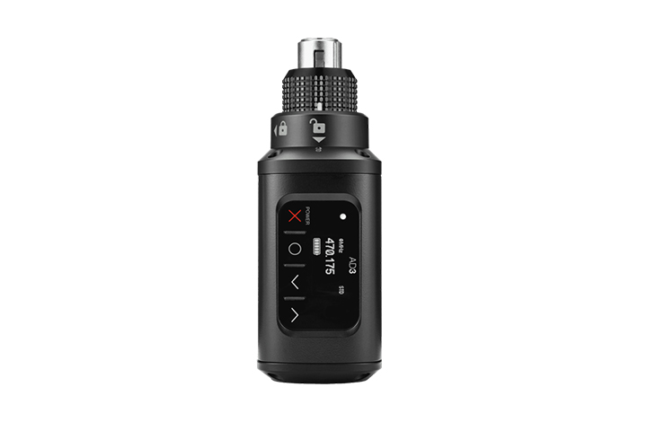 Shure Axient Digital AD3 plug-on wireless transmitter