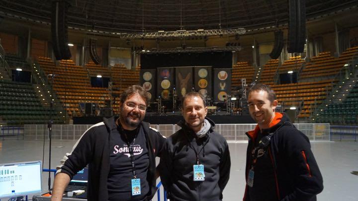 da sx: Giovanni Bugari, Federico Navazio e Claudio Scavazza.