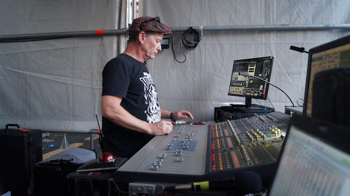 Intervista a Steve McGuire FoH dei The Cult