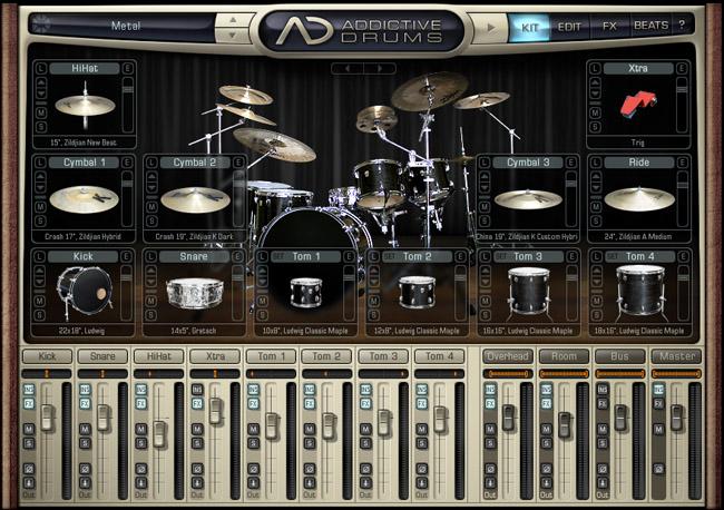 Addictive drums & ez drummer ad2 & ezd2 вконтакте.